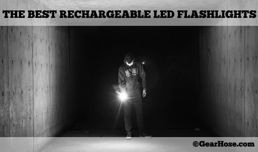best rechargeable led flashlight
