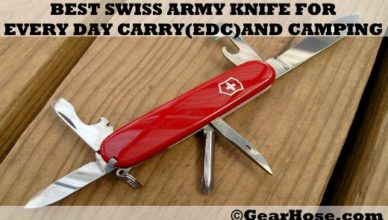 best swiss army knife for edc and camping