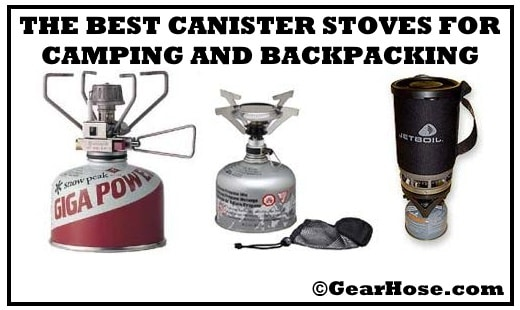 best canister stoves