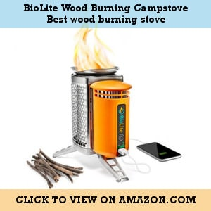 BioLite Wood Burning Campstove - the best wood-burning stove