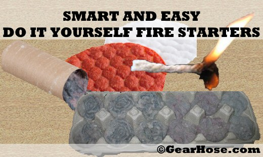 do it yourself fire starters