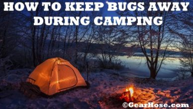 how to keep bugs away during camping