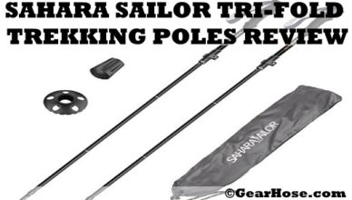 Sahara sailor tri-fold trekking pole review
