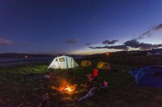 different types of camping - tent camping