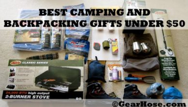 best camping and backpacking gifts under $50