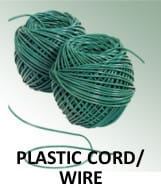 plastic cord or wire