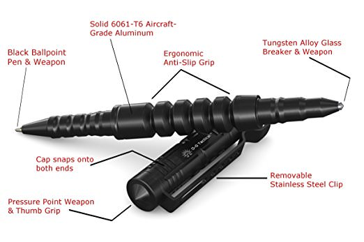 tactical pen parts