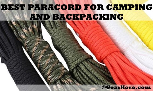 best paracord for camping