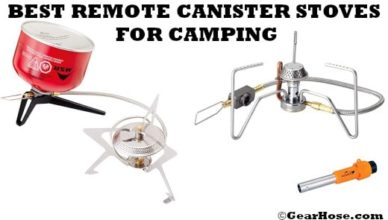 best remote canister stove