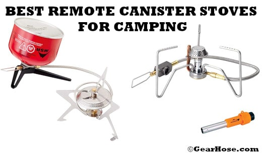 Best remote canister stoves for camping and hiking (Updated