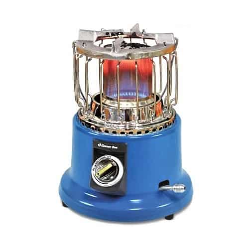 Comfort Zone CZPP21 PowerGear 2-in-1 Propane Heater/Stove