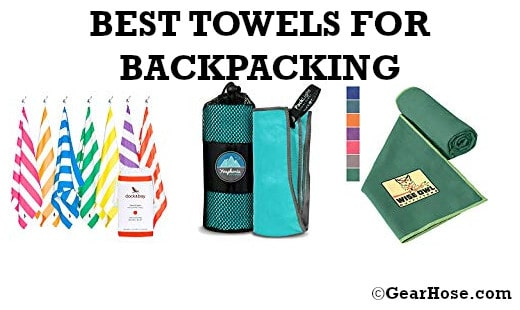 best towels for backpacking